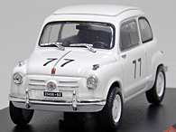 1/43 1000 MIGLIA Collection No.34 FIAT 600 1955ミニチュアモデル
