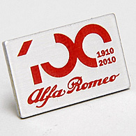 Alfa Romeo 100anni Pin Badge