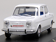 1/43 ABARTH Collection No.49 ABARTH SIMCA 1150 SSミニチュアモデル