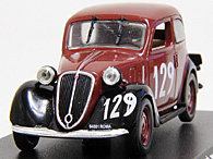 1/43 1000 MIGLIA Collection No.39 FIAT 508C BALILLAミニチュアモデル