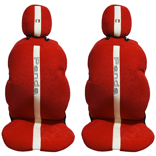 FIAT NEW Panda Seat Cover Set (Red)