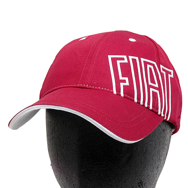 FIAT Baseball Cap(Bordeaux/White Logo)