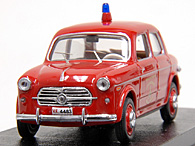 1/43 FIAT 1100/103 T.V. Fire Dpt. Miniature Model