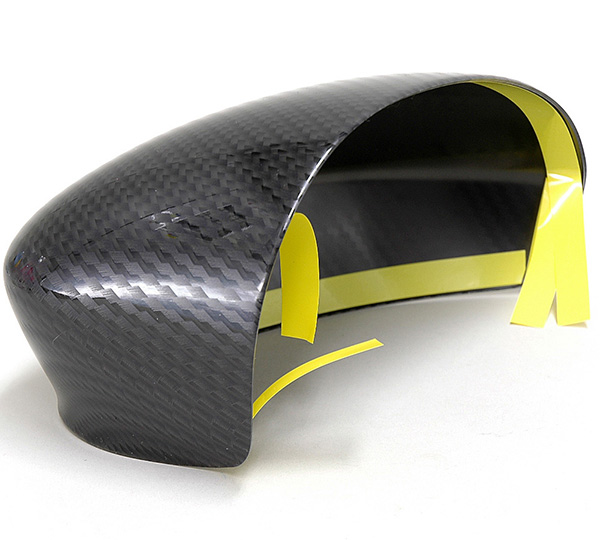 FIAT GRANDE PUNTO/PUNTO EVO Mirror Cover Set (Carbon look)