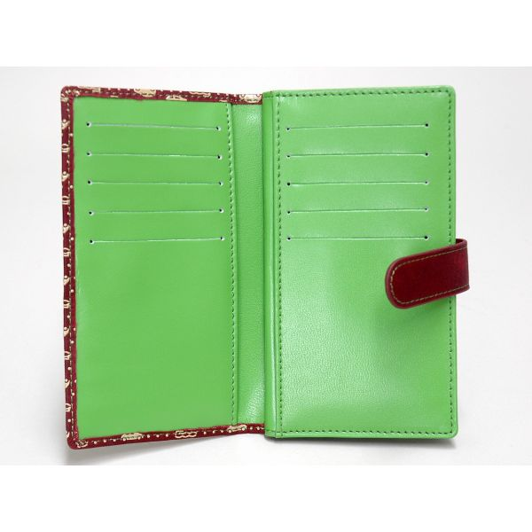 FIAT 500-inden Leather Card Case