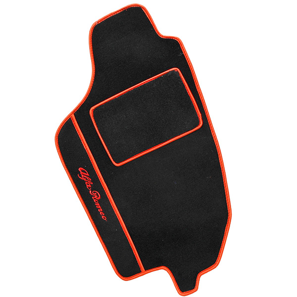Alfa Romeo 145 Floor Mats (Black/Red Pipng/LHD)