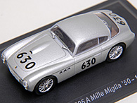 1/43 ABARTH Collection No.56 205A MILLE MIGLIAミニチュアモデル
