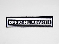 OFFICINE ABARTH Patch