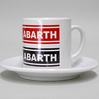 OFFICINE ABARTH Cup & Saucer