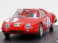 1/43 ABARTH Collection No.60 1000 SPIDER  SPORT 1962年ミニチュアモデル