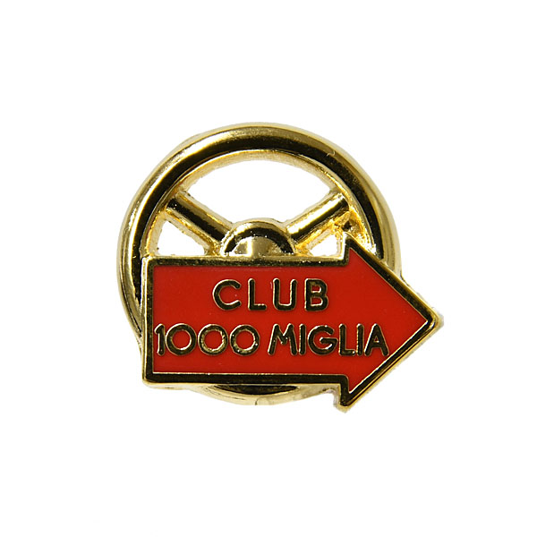 CLUB 1000 MIGLIA Pin Badge