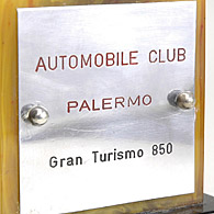 Automobile Club Palermo ABARTH & C 850 classトロフィー