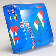 ITALIA 150 Memorial Paper Weight (4emblems)