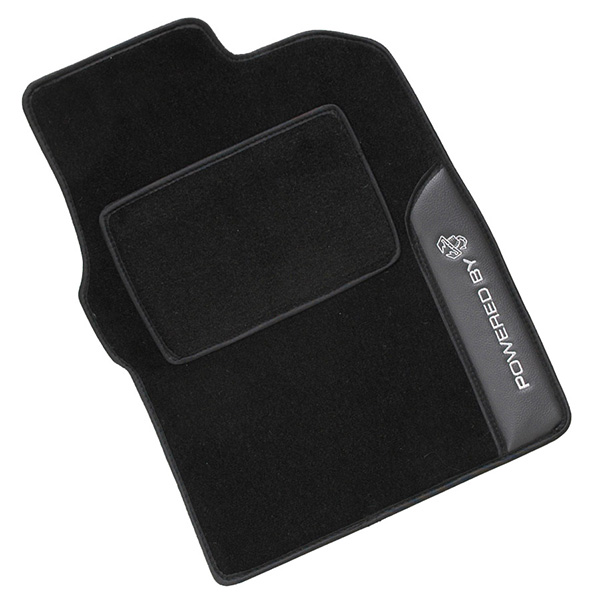 FIAT NEW 500 ABARTH Floor Mats -POWERED BY SCORPIONE-(Black/RHD)