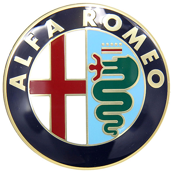 Alfa Romeo純正トランクリッド用エンブレム(エンブレム部のみ/145/146/155/156/166)<br><font size=-1 color=red>09/07到着</font>