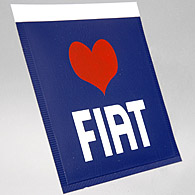 LOVE FIAT Ticket Holder
