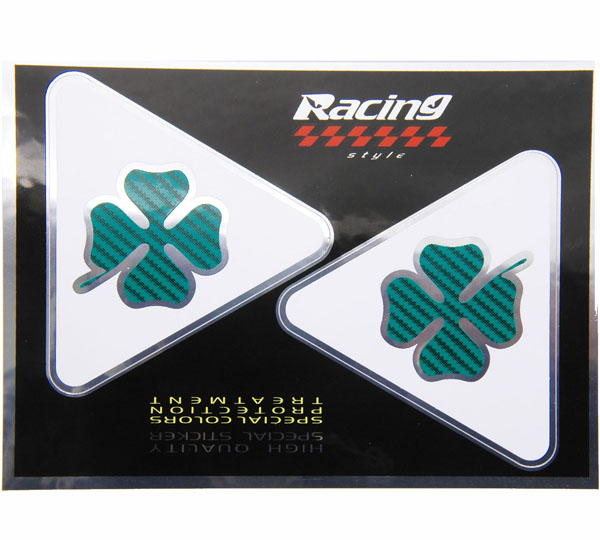 QUADRIFOGLIO Alu Sticker Set