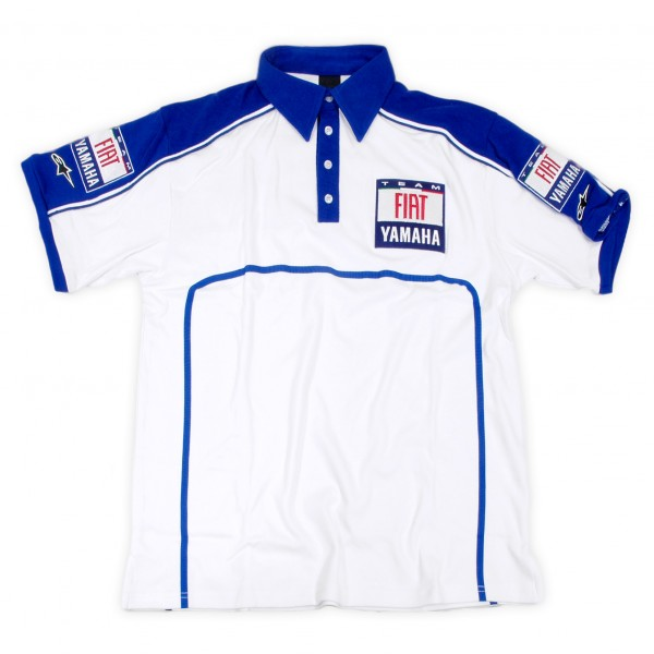 FIAT YAMAHA TEAM B.D.Shirts(Short Sleeves)