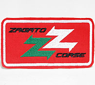 ZAGATO CORSE Patch (Red/White)