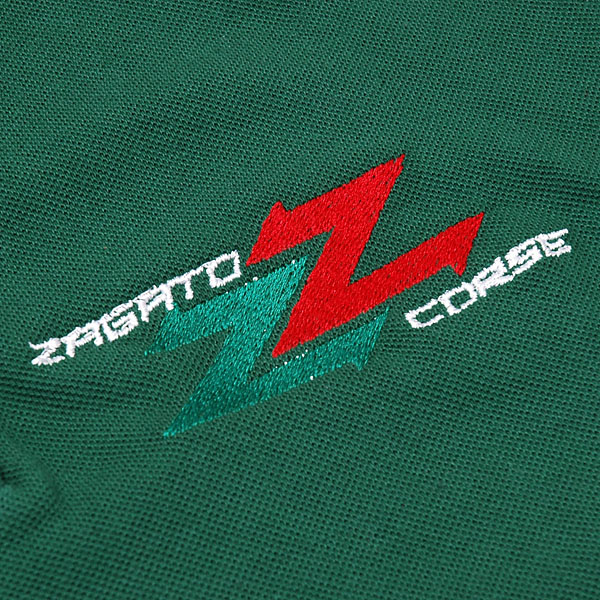 ZAGATO CAR CLUB Polo Shirts (for Women/Green)