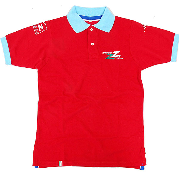 ZAGATO CAR CLUB Polo Shirts (for Men/Red)