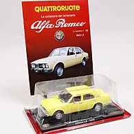 1/24 Alfa Romeo 100 Anni Collection No.19 ALFETTA 1.8ミニチュアモデル