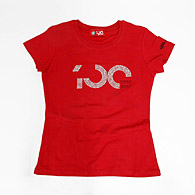 Alfa Romeo 100anni Memorial T-shirts for women (Red)