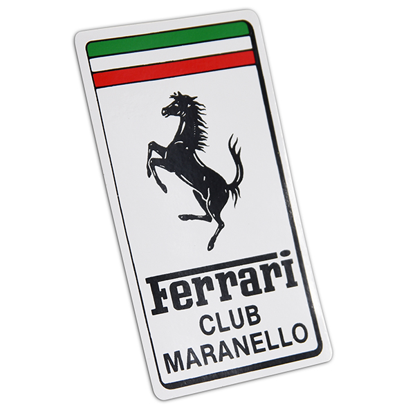 Ferrari Club Maranello Emblem Sticker