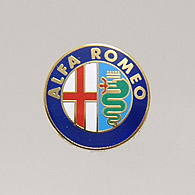 Alfa Romeo Emblem Pin Badge<br><font size=-1 color=red>02/16到着</font>