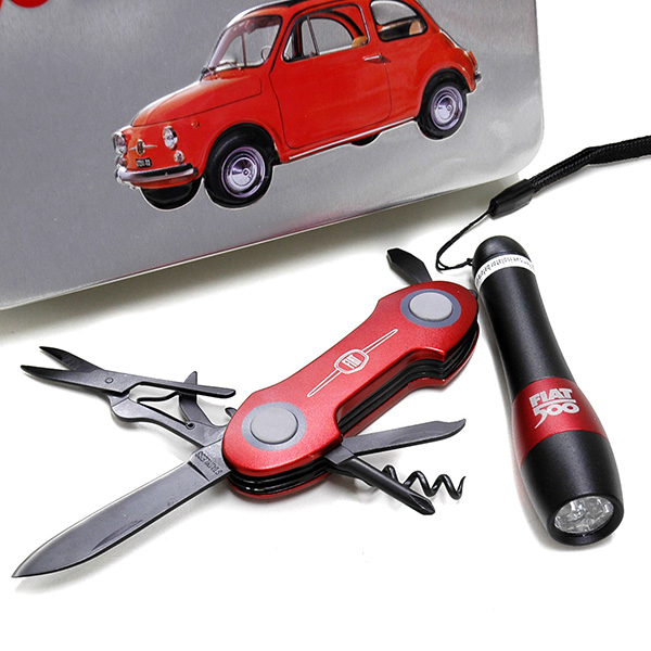 FIAT 500 Multipurpose tool & Pocket Light Set