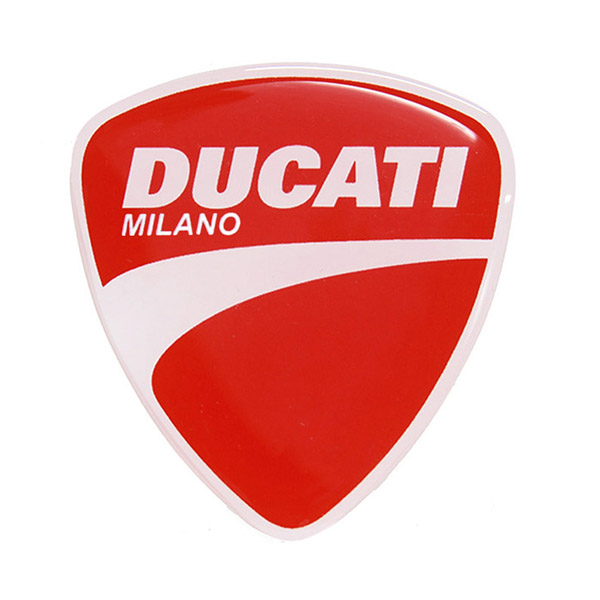 DUCATI純正 DUCATI エンブレム3Dステッカー<br><font size=-1 color=red>09/11到着</font>