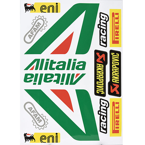 Sponsor Logo Sticker Set (Alitalia)