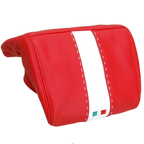 Alfa Romeo MiTo Rear Head-rest leathercover (smoking/red)