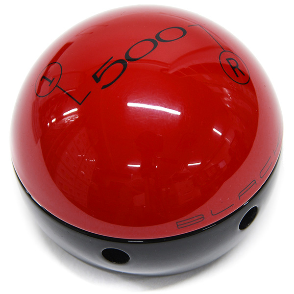 FIAT NEW 500 Gear Knob (Red & Black/Gloss)