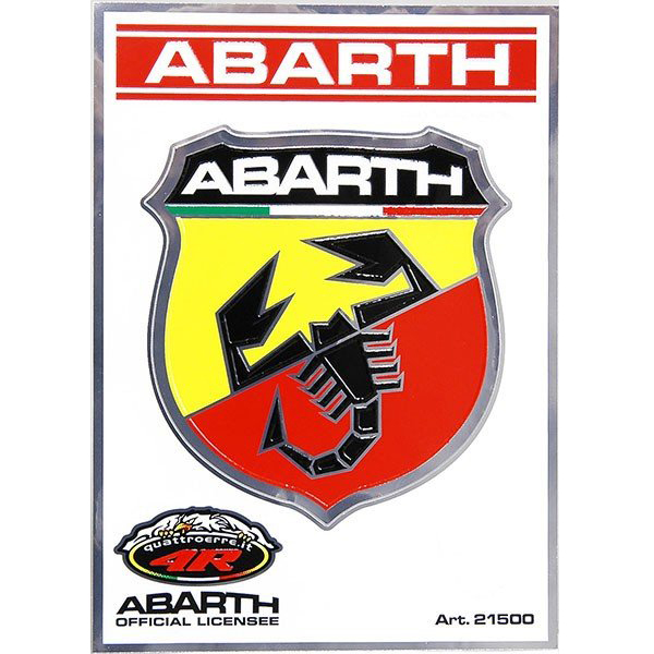 ABARTH Emblem Sticker (75mm)-21500-