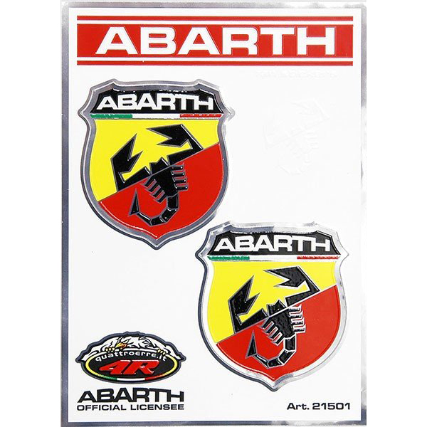 ABARTH Emblem Sticker (46mm/2pcs.)-21501-