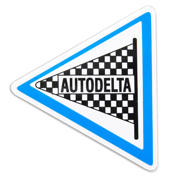 Alfa Romeo AUTODELTA Sticker(85mm)