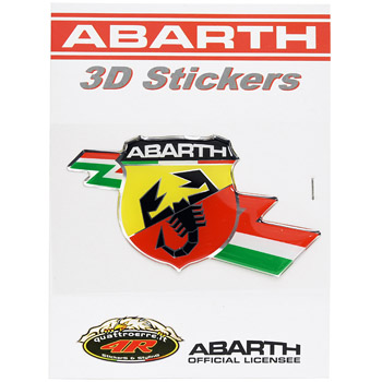 ABARTH 3D Flash Emblem Sticker -21530-