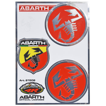ABARTH Sticker Set (Scorpione/Emblem)-21508-