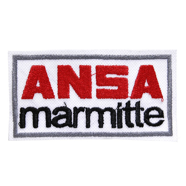 MARMITTE ANSA Logo Patch