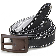 FIAT Reversible Belt(Black*Light Gray)