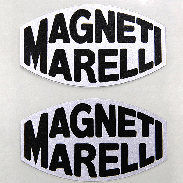 MAGNETI MARELLI Logo Sticker (Clear Base)
