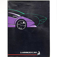 LAMBORGHINI YEAR BOOK 1993年版