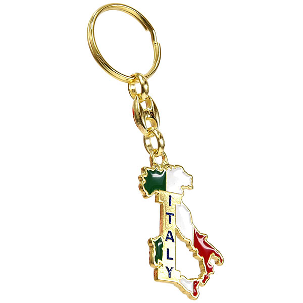 ITALIA Map Keyring
