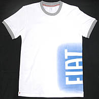FIAT Spray Logo T-shirts (White)