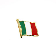 ITALIA Pin Badge (Flag)