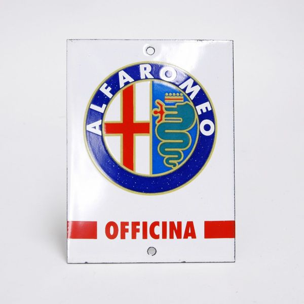 Alfa Romeo Sign Plate(OFFICINA)