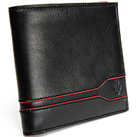 Ferrari Wallet by TOD'S(BLACK)