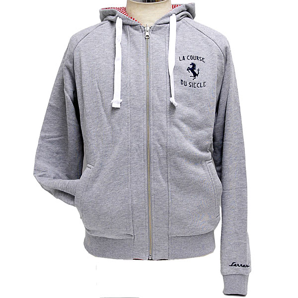 Ferrari Hooded Reversible Felpa-La Course du Siecle-