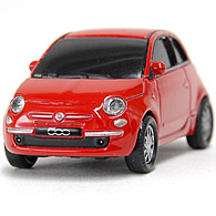 1/68 FIAT 500Miniature USB Memori(8GB/Red)